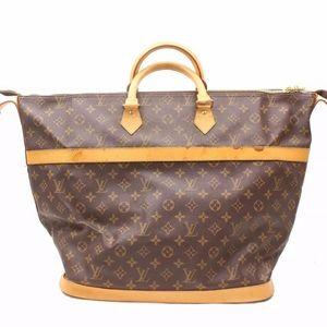 Auth Louis Vuitton Cruiser 40 Travel Bag L9TR368